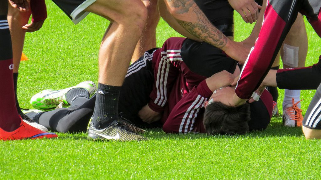 Is Stepping on Someone's Foot a Foul in Soccer?