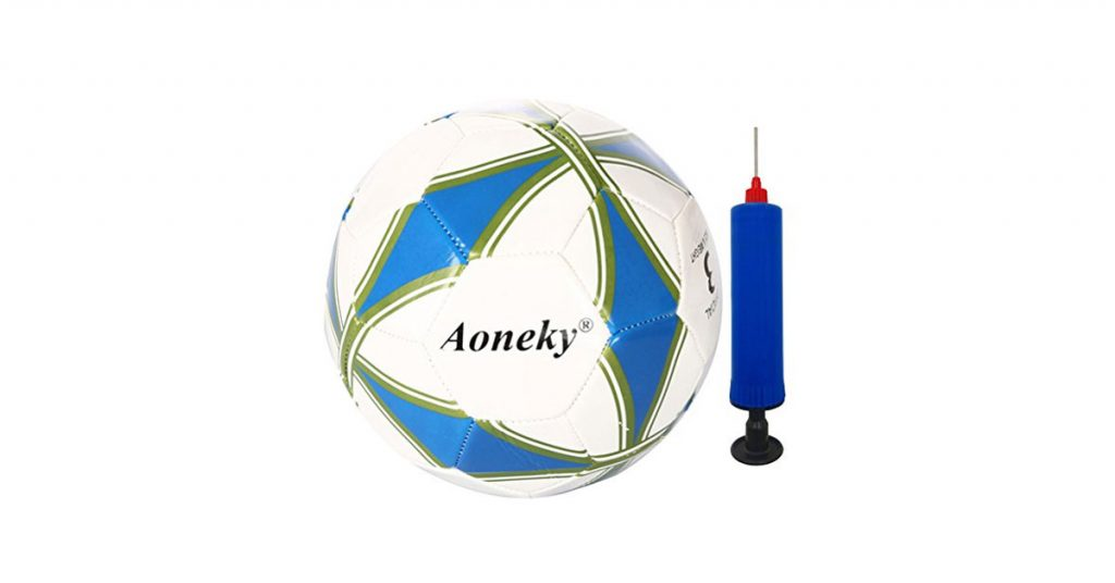 Aoneky Size 3 Soccer Ball With Pump Review 2021