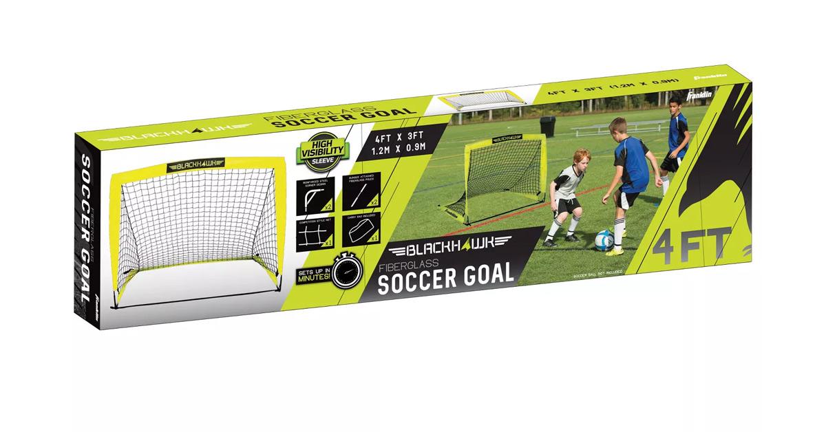 Franklin Sports Blackhawk Portable Soccer Goal Review