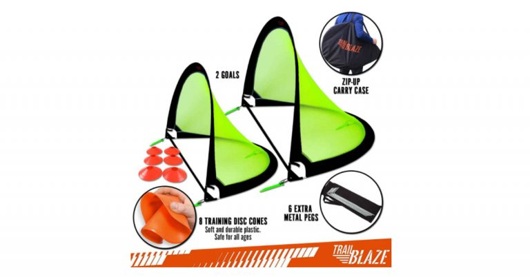 Trailblaze Pop Up Soccer Goal Review 2021